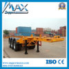 3 Axles 40FT 40tons Skeleton Trailer for Container Transport