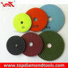 Angle Grinder Wet Flexible Granite Diamond Polishing Pad