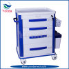 ABS Hospital Furniture Product Medical Hospital Trolley