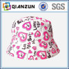 Custom Made Colorful Floral Print Bucket Hat for Sale