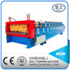 840-900 Double Layer Trapezoidal Roof / Wall Sheet Roll Forming Machinery