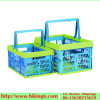 Collapsible Plastic Basket, Shopping Folding Basket