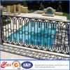 Wholesale Classic Wrought Iron Balcony Railing / Galvanized Steel Balcony Balustrade