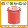 Food Packing Round Metal Tea Box Tea Tin Container
