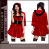 2017 Wholesale Sexy Lady Adult Holiday Santa Christmas Costume (T7295)