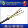 3 Cores Silicone Insulation Fiberglass Braid Stainless Steel Shield Wire