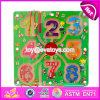 New Products Kids Educational Toy Wooden Magnetic Color Maze W11h019