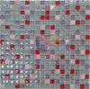 Glass Mix Stone Mosaic Tile for Kitchen (CS141)