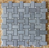Light Grey Bluestone Mosaic, Basketweave Mosaic and Mosaic Tiles