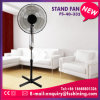 Fashion Products Fan 16 Inch Shiny Silver Stand Fan (FS-40-333)