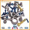 Hot Sale Industrial Titanium Screw, Titanium Nut in Stock