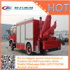 Fire Fighting Rescue Vehicle Truck Install Crane and Surveillance Camera