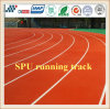 Red Blue Color Running Track 13mm Synthetic Rubber Running Track