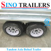 Heavy Duty Adr Safety Box Trailer for Australian Market