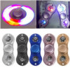 LED Hand Spinner, Aluminum Alloy Fidget Finger Spinner