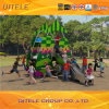 Promotional Plastic Playground Equipment Luxury Large Children Playground