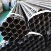 Youfa Brand ASTM A53 BS1387 Gr. B Welded Carbon Black Metal Pipe