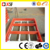 Yellow Powder Coated Scaffolding Ladder Frame
