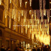 Christmas Outdoor LED Curtain Icicle String LED Lights Street Decor