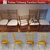Hot Sale Hotel Furniture Aluminum Party Tiffany Chair with Cushion for Wedding Yc-A200