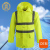 OEM Yellow Reflective Safety Cleaning Uniform, Hi Vis Outdoor New Style Subway Uniforms
