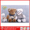 White Huggable Plush Soft Teddy Bear with T Shirt