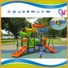 Colorful Cheap Small Outdoor Playground Equipment for Preschool (A-15096)