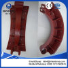 High Quality of Cast Iron Brake Shoes for Heavy Duty Truck Benz, Man, Scania, Nissan, Hino