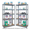 5 Tiers Metal Storage Shelf Steel Rack (7030-100)