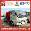 Dump Rubbish Vehicle 4*2 Diesel Power Crane Bucket Garbage Truck Hydraulic Pump Refuse Collector