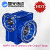 Nmrv050 Worm Gear Motor Reducer with Output Flange