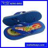 Custom Print PVC Middle Heel Sandal Slippers (14I018)