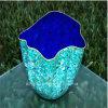 Big Green Decoration Glass Craft Bowl
