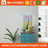 PVC Waterproof Classic Style Wallcovering with Flower