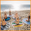 1.5m*1.5m Colorful Gift Personalized Round Beach Picnic Yoga Mat