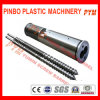 Parallel Twin Screw Barrel for Plastic Extruder