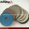 "4"" 100mm Dry Honeycomb Polishing Pad for Marble Countertops"