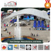 25*60m Large Dome Tent Event Hall with Arched Roof for Music Concert