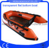 Glass Bottom Inflatable Boat Transparent Floor