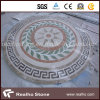 Rectangle Marble Floor Medallions Patterns for Water Jet