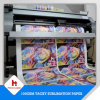 64′ 100GSM, 70GSM Sublimation Roll Size Tacky Sublimation Transfer Paper for Sportswear