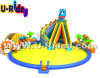 Cute Dragon Inflatable Water Park