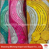 High Quality Multi Color Cord Lace Gha003