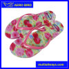 New Fashion Flowers Girls Flip Flop PE Slippers for Ladies