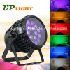 18PCS*12W Rgbwauv Outdoor Waterproof 6in1 LED PAR Zoom