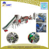 Waste PP Pet Bottle Flakes Plastic Crusher Washing Recycling Line