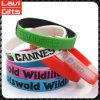 Wholesale Custom Fashion Printing Silicone Rubber Bracelet with Logo