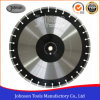 450mm Laser Welded Diamond Saw Blades for Asphalt Cutting