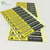 High Quality Stickers for Caution (KG-PT029)