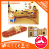 Nursery School Kids Wooden Bookcase Kindergarten Furniture